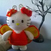 hello kitty fée au crochet