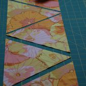 Quilt it: wanna tri? - cutting the triangles