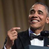 """Obama au dîner des correspondants de la Maison-Blanche: """" La fin de la République n'a jamais eu autant de classe!"""""""