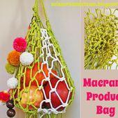 Macramé Produce Bag Tutorial