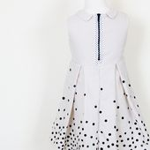 Me Sew Crazy: Tutorial - Polka Dot Dress Upcycle