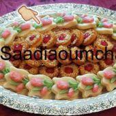 صابلي على شكل وردة مع أخصائية الحلويات حفيظة ام مريم