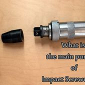 What is the main purpose of Impact Screwdriver?