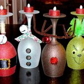 16 Sparkling DIY Candles Decoration Ideas For Christmas 2014. Awesome!