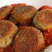 Petites croquettes aux artichauts sur un lit de sauce tomate: vos enfants en raffoleront!: La Fée Stéphanie