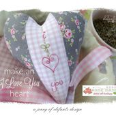 Jenny of ELEFANTZ: Tutorial - make an I LOVE YOU heart...
