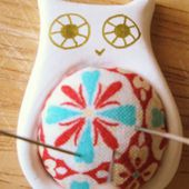 DIY Owl Pin Cushion