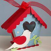 StampingDaniTemplates: Casetta per uccellini - Birdhouse Box