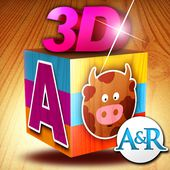 3D Puzzle for Kids - 138 Puzzles to Play with Letters and Animals - A Game for Learning the Alphabet and Improving Visual Perception Skills
