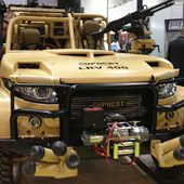 Top Gear-worthy trucks and more from 2013 DSEI, the world's largest defense show