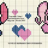 Grille gratuite point de croix : Stitch et Angel - Le blog de Isabelle