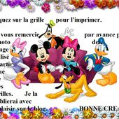 Grille gratuite point de croix : Mickey Mouse assis 2 - Le blog de Isabelle