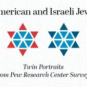 American and Israeli Jews: Twin Portraits From Pew Research Center Surveys