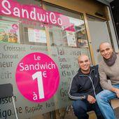 Bruxelles : Soufiane et Az-dine proposent les sandwiches à 1 € ! Pa...