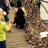 À Paris, la bêtise est cadenassée à l'homme ! L'amour pèse trop lou...