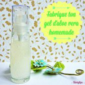 DIY: Fabrique ton gel d&rsquo&#x3B;aloe vera homemade