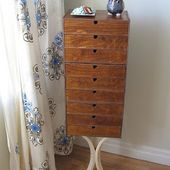 Angie's George Nelson-Inspired Jewelry Cabinet
