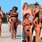 Wearing nothing but a suntan: Rio stages NAKED Olympics in tribute to ancient Greeks