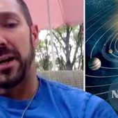 Astronomer 'exposes NASA cover up', claiming second sun, and Nibiru REAL during broadcast