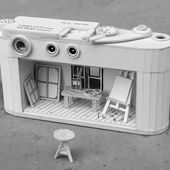 Cardboard Leica Replica Symbolizes Our Unhealthy Relationship with Technology - PetaPixel