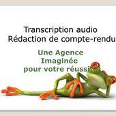 Services de transcription audio rédaction de compte rendu Audio Transcription Services