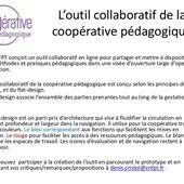 Prototype de l'outil collaboratif de la coopérative pédagogique