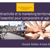 Vincent gollain le marketing territorial et l'attractivité des territoires - mars 2016