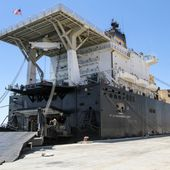USNS 1st LT Baldomero Lopez Ship Tour by Stars and Stripes