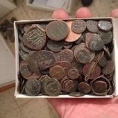 Antiquities thief busted with over 800 ancient coins