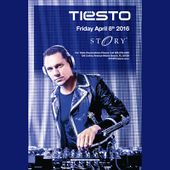 Tiesto STORY Tickets 04/08/16