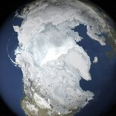 2015 Arctic sea ice maximum annual extent is lowest on record