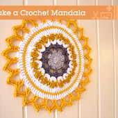 Make a Crochet Mandala For Your Home