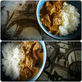 CURRY MADRAS AU BOEUF