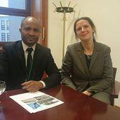 Une délégation du Parti CORED a été reçue au Ministère des Affaires Etrangères d'Allemagne | CORED Guinée Equatoriale