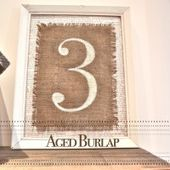 Aged Burlap - Country Design Style