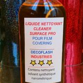 Liquide #nettoyant #AVANT POSE pour film #covering... - DECOFLASH INDUSTRIES