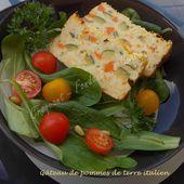 Gâteau de pommes de terre italien - Croquant Fondant Gourmand