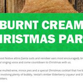 Burnt Cream Christmas Party