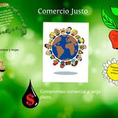 Comercio justo / Domenica Paredes B-22: text, images, music, video | Glogster EDU - Interactive multimedia posters