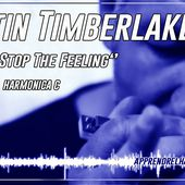 Justin Timberlake - Can't Stop The Feeling - Harmonica C