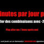 10 min par jour pour... travaller des combinaisons contenant -2'' et -3''