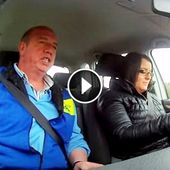 Student Started Texting During Driving Test. Now Watch What The Instructor Does...