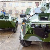 "MYKOLAYIV ARMOURED PLANT showed an updated armored vehicle ""Svityaz"""