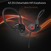 KZ ZS3 Detachable Design HiFi In Ear Stereo Earphones-9.05 and Online Shopping   GearBest.com Mobile
