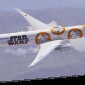 Les avions Star Wars de la compagnie japonaise ANA commencent leurs voyages