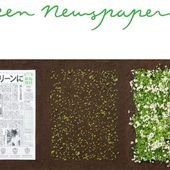 Le Mainichi, l'un des plus grands quotidiens japonais, fleurit quand on le plante