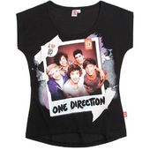 One Direction Tee-shirt noir (12 ans)