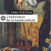 L'exécuteur de la haute justice