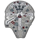 "Star Wars Grey Millenium Falcon Rug (59"" X 79"")"