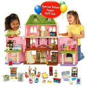 Cheap Fisher Price Loving Family Grand Dollhouse and Accessories